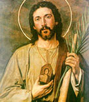 San Giuda  Taddeo. Il santo delle cause perse