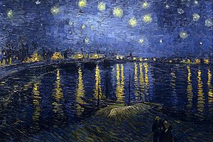 Notte, tu mi pari immensa – La notte stellata di Van Gogh