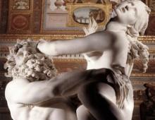 Plutone che rapisce Proserpina – una scena comune