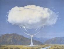"""Cosa sono le nuvole? Magritte e """"La corde sensible"""""""