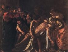 A che punto é la notte, la Resurrezione di Lazzaro di Caravaggio