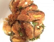 Due ricette in una: le cozze in gratin e il loro contorno di patate e fagiolini