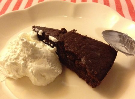 A grande richiesta…la torta al cioccolato!