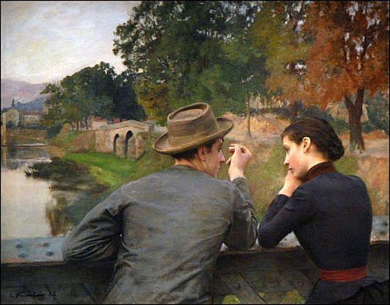 La rencontre amoureuse en peinture - Citations rencontres inattendues