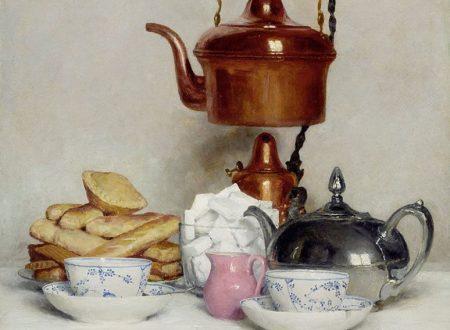 Il servizio da tè di Albert Anker