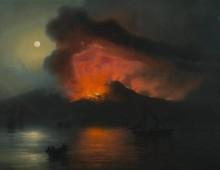 L'eruzione del Vesuvio di Giacchino La Pira