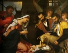 L'Adorazione dei Pastori di Lorenzo Lotto
