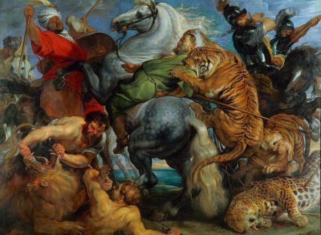 Ancora la speranza: La caccia di tigri, leone e leopardo di Rubens