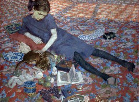 La magia di un tappeto per Felice Casorati