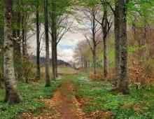 La primavera di Hans Andersen Brendekilde