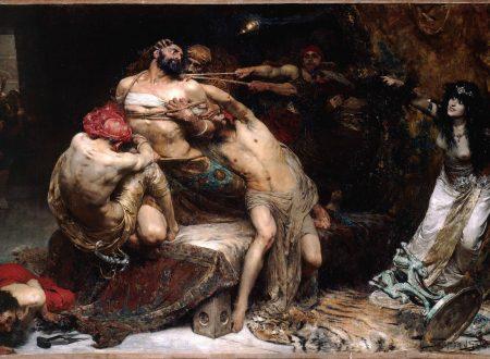 Il tradimento di Dalila di Solomon Joseph Solomon