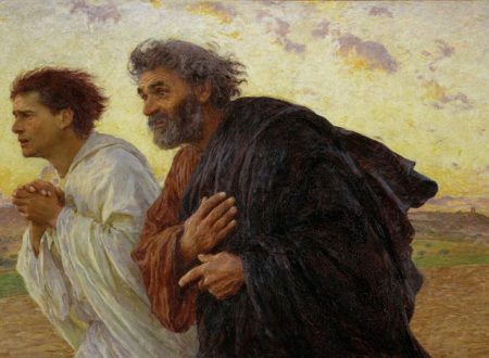 Eugène Burnard Pietro e Giovanni corrono al sepolcro all'alba